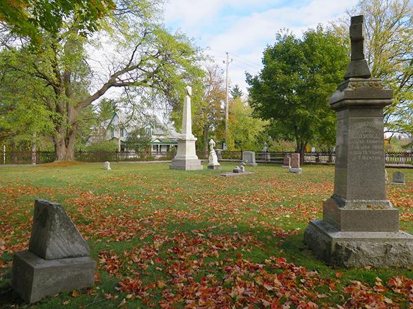 Vendre sa maison près d'un cimetière