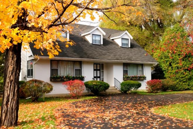 Maison à vendre à l'automne